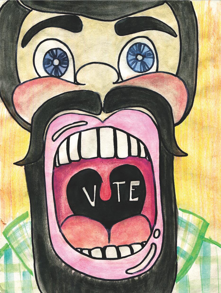 Vote! Illustration