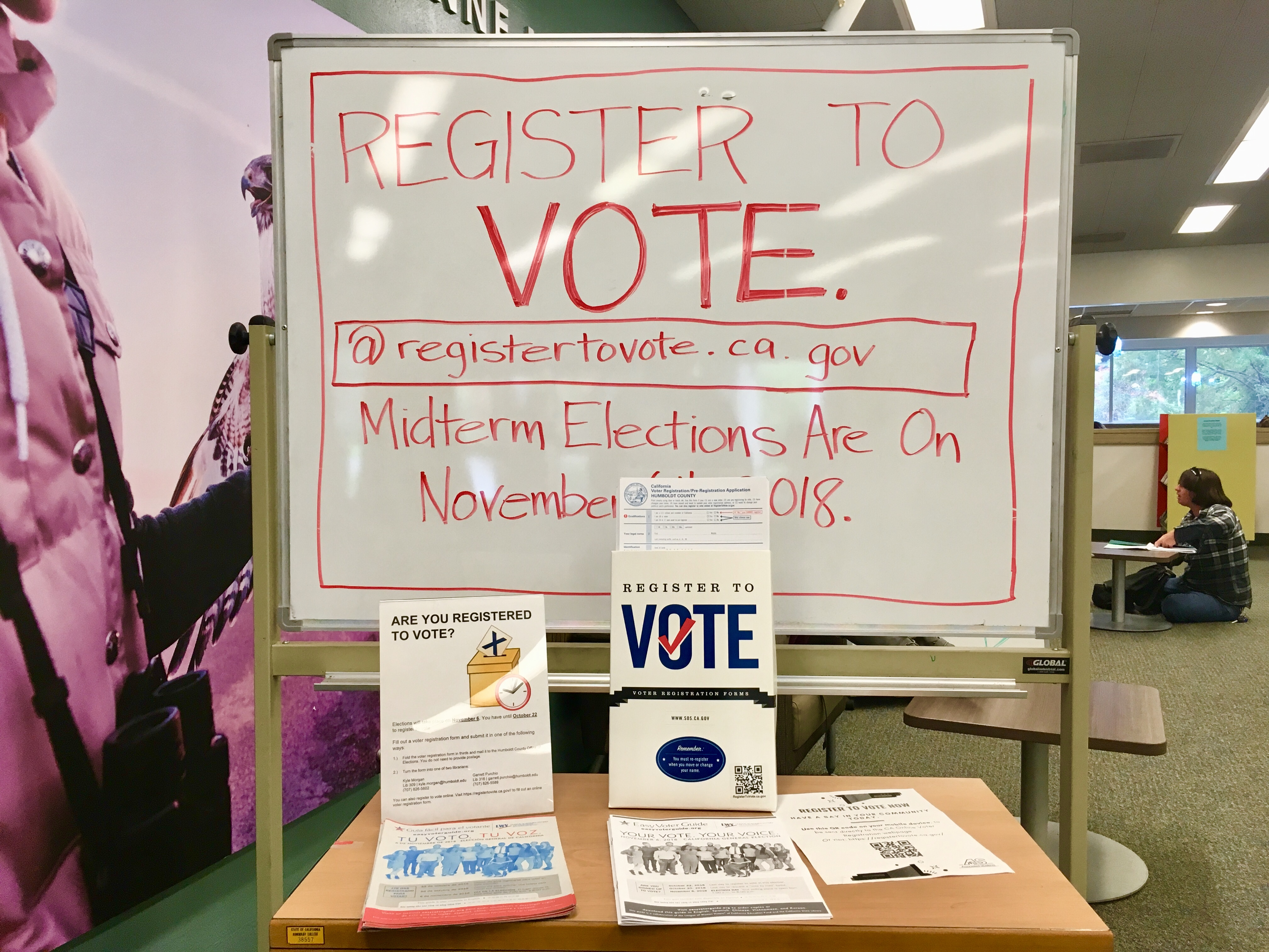 Voter Registration Library