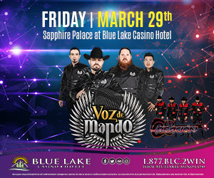 Voz de Mando at Blue Lake Casino