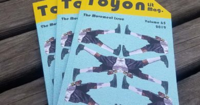 Toyon Releases a New Volume