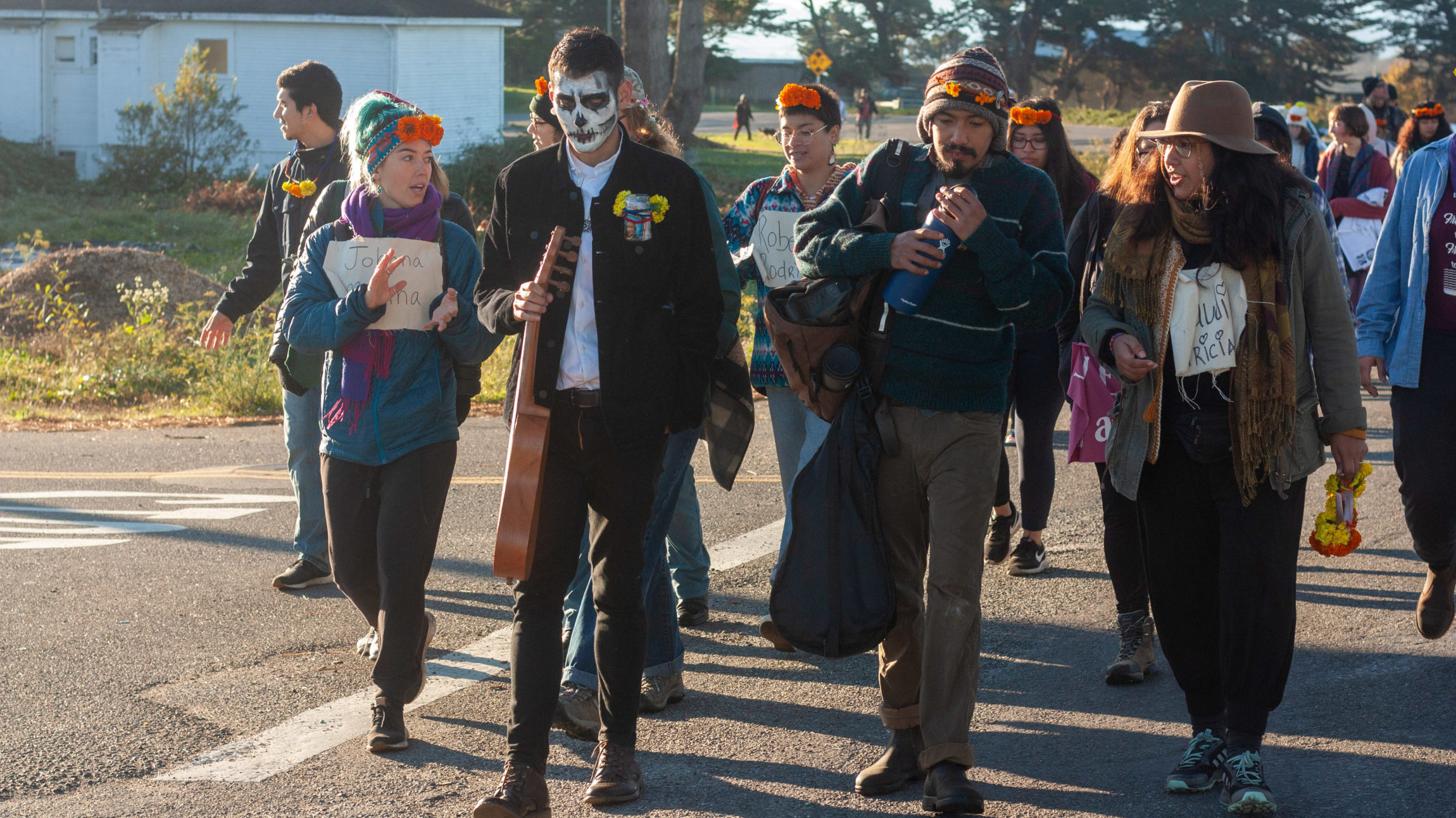 Dia de los Muertos Procession: a walk for justice