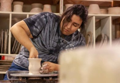 Student spotlight: Samantha Hernandez's love for ceramics and photography