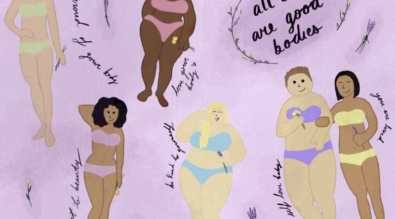 Self-embrace and body positivity can make us feel unstoppable