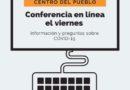 Centro del Pueblo inicie una conferencia sobre COVID-19 viernes Abril 3