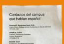 Voluntariados de facultad y personal proporciona información en español para comunidad y padres