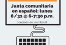 Junta comunitaria de coronavirus para hispanohablantes