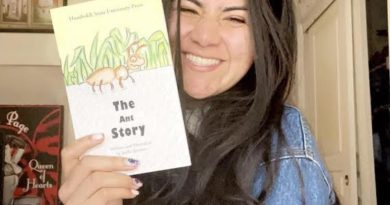Self-published HSU student writes about the immigrant experience