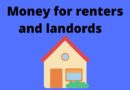 Money for renters and landlords during pandemic